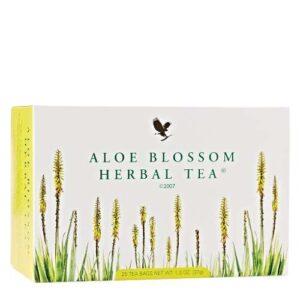 forever Aloe blossom herbal tea forever living kuwait فوريفر الو بلوسوم هيربال تى شاى اعشاب فوريفر منتجات فوريفر ليفينج الكويت