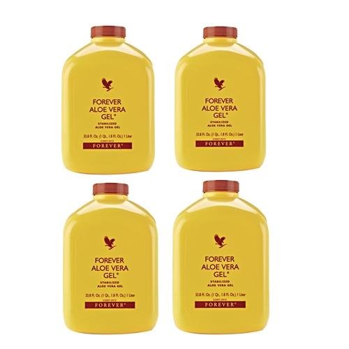 4 aloe vera gel offer forever living products kuwait عرض 4 الوفيرا جل عصير الصبار منتجات فوريفر الكويت