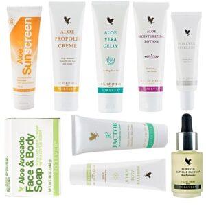 forever skin care package forever living products kuwait باكج فوريفر العناية بالبشرة منتجات فوريفر الكويت