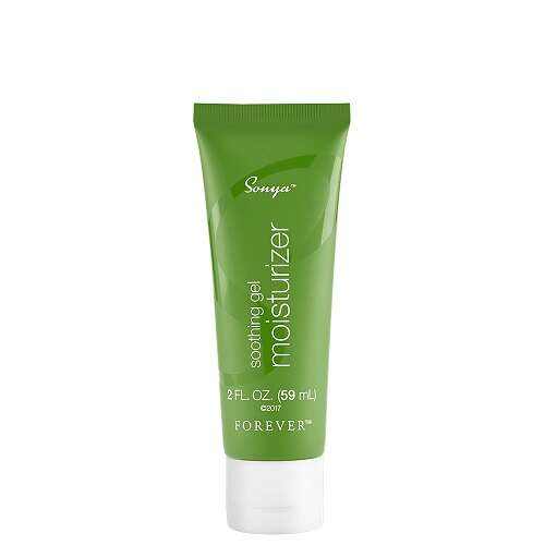 sonya soothing gel moisturizer forever living products kuwait فوريفر سونيا جل ملطف و مرطب منتجات فوريفر ليفينغ برودكتس الكويت